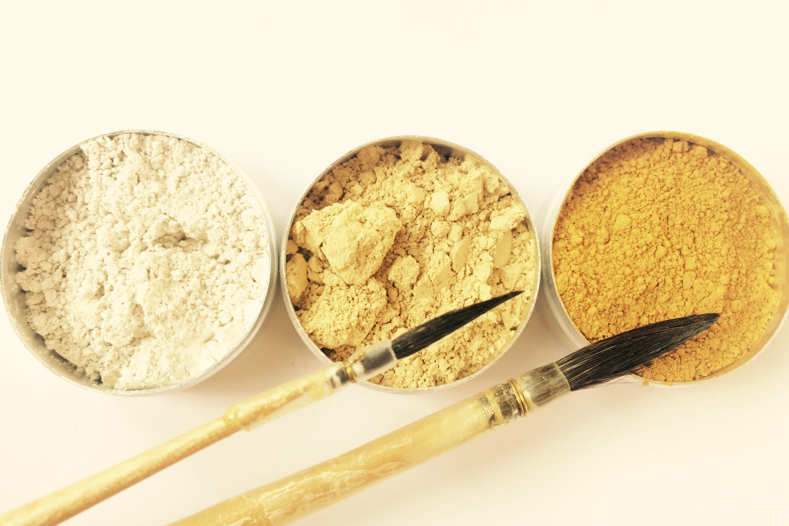 pigments ocre jaune kit simplice