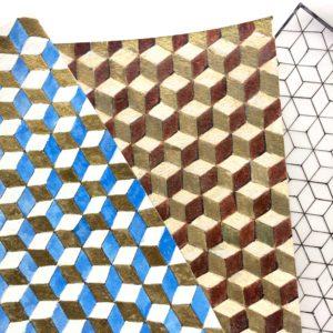 cubes pigments naturels