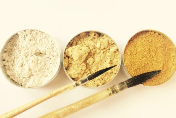 pigments ocre jaune