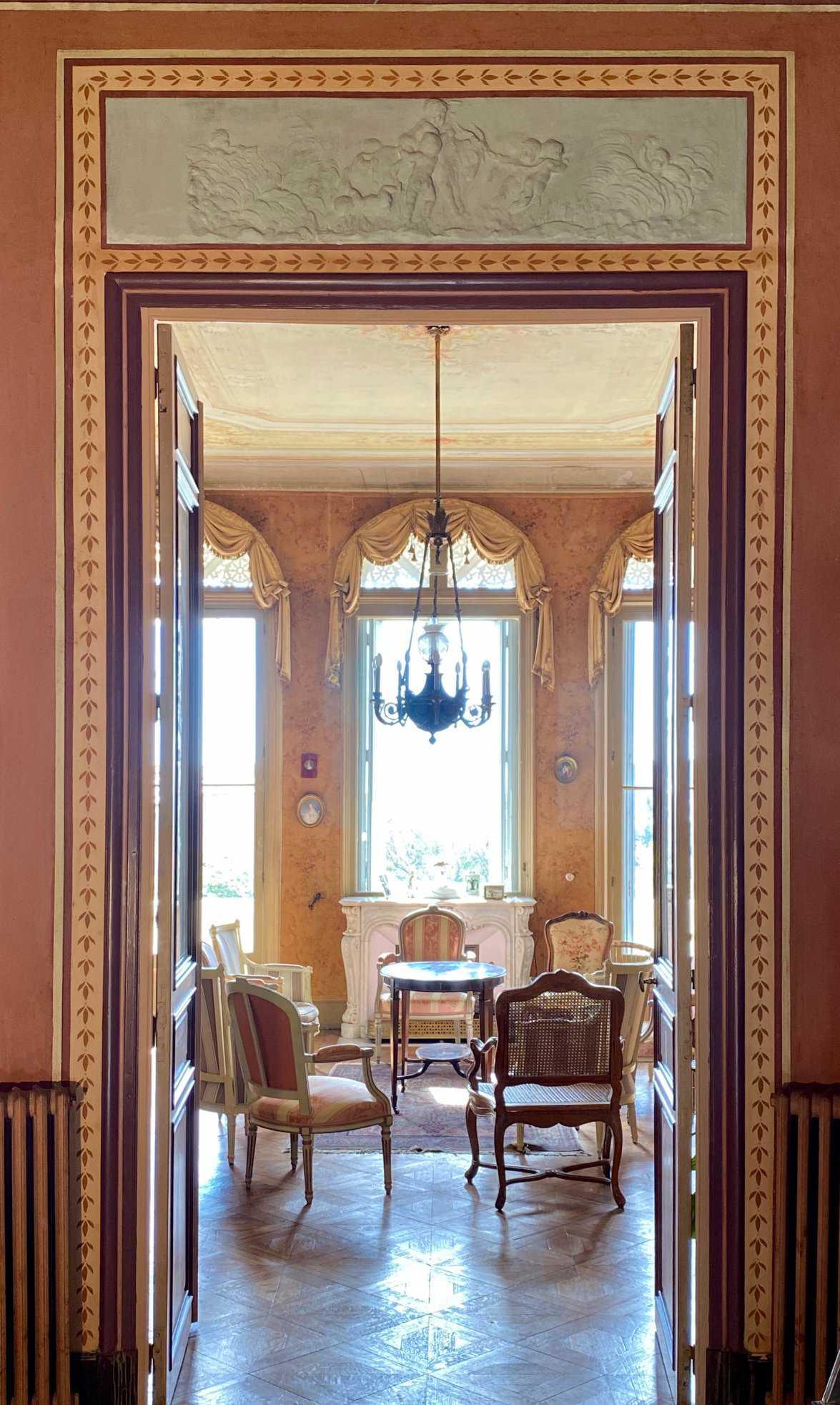 décoration intérieur villa cote d'azur
