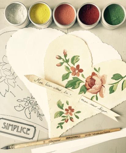 Saint Valentin loisirs créatifs