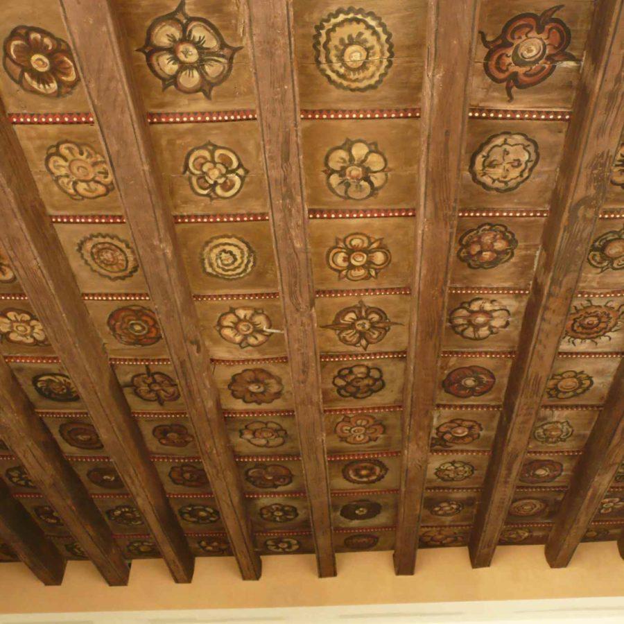 plafond décor peint XVI Avignon
