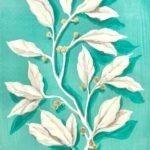rameau branches feuille peinture kit créatif