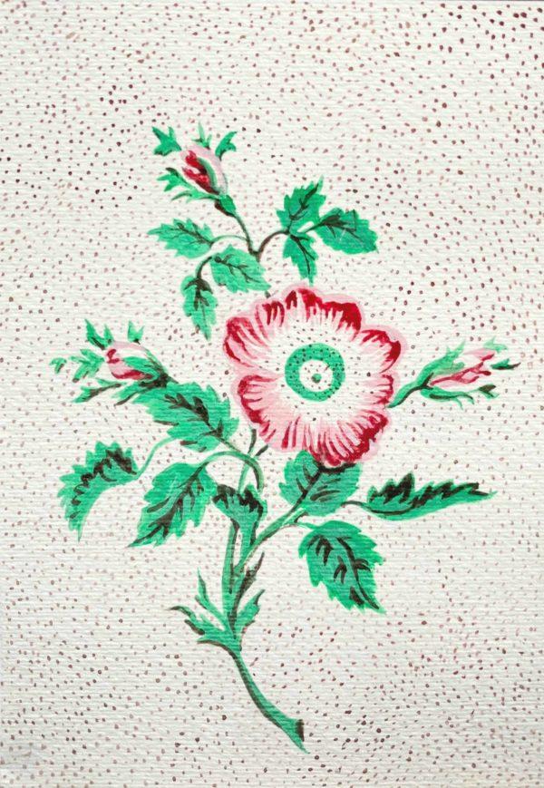 carte DIY fete des mere pigments peintures